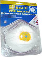 BS034 PRE PACK P3 VALVED MASK